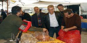 Nail Dülgeroğlu, seçim çalışmalarını sürdürdü