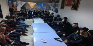 AK Parti Yeşilhisar Gençlik Kolları Toplantısı yapıldı
