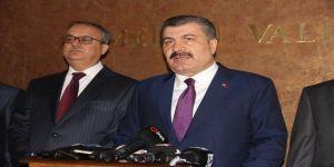 """Bakan Koca: """"Türkiye'de grip hastası sayısı yüzde 20 azaldı"""""""
