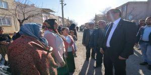 Başkan Mustafa Çöl'e ev ziyaretinde davul ve zurnalı karşılama