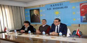 """Levent Tellioğlu; """"1 Nisan sabahı Karesi'ye bahar gelecek"""""""