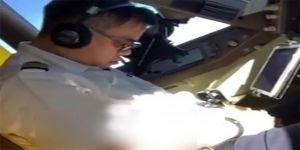 Pilot uçuş sırasında uyuyakaldı