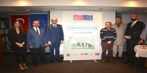 Sürdürülebilir çevre ve enerji projesinin açılış toplantısı yapıldı