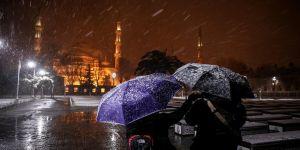 Kar yağışı sürecek