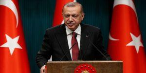 Erdoğan'dan Şentop'a tebrik