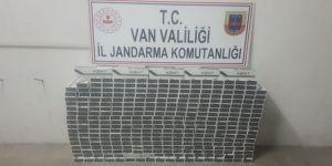 Van'da 3 Bin 440 Paket Kaçak Sigara Ele Geçirildi