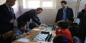 Yıldızeli'nde Satranç Turnuvası Düzenlendi
