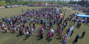 9 Bin Bisiklet Kartepe Yollarında