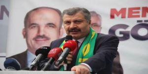 """Sağlık Bakanı Koca: """"Hedef Kaliteli Sağlık Hizmetini Sürdürülebilir Kılmak"""""""