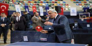 Başkan Karaosmanoğlu'nun Vuruşuyla Şampiyona Başladı