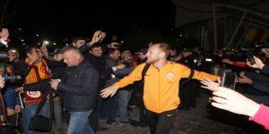 Galatasaray Hatay'a ulaştı