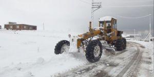 Ahlat'ta Tüm Köy Yolları Ulaşıma Kapandı