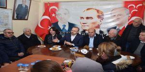Ak Parti Grup Başkanvekili Turan Mhp Lapseki İlçe Teşkilatını Ziyaret Etti