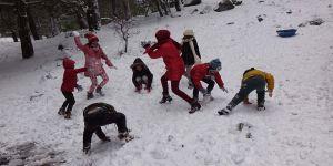 Elazığ ve Bingöl'de eğitime kar engeli