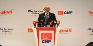 CHP Genel Başkanı Kılıçdaroğlu: Hedefimiz bu ülkeye gerçek anlamda demokrasiyi getirmek