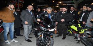 Yusuf Ziya Günaydın Motosikletçilerle Buluştu