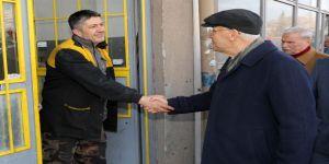 Başkan Yaşar'dan Gimat Esnafına Ziyaret
