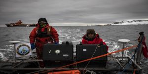Türkiye'den Antarktika'da 'koordinatlı' harita çalışması harita çalışması