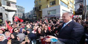 Binali Yıldırım: 500 bin kişiye iş sağlayacak altyapı için İstanbul'dayım