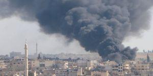 Esed rejiminden İdlib'de kampa saldırı: 4 yaralı