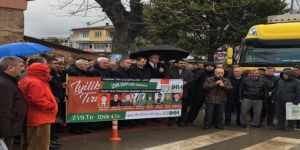 İznik'ten Türkmen Dağına Uzanan Yardım Eli