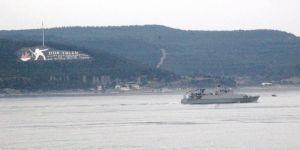 İspanya Mayın Arama Gemisi Çanakkale Boğazından Geçti