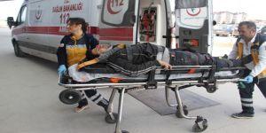 Pencere Takılırken İnşaattan Düşüp Yaralandı