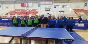 Antalyaspor Bayan Masa Tenisi Takımı Batman Etabını Tamamladı