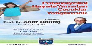 Prof. Dr. Acar Baltaş Sanko Okullarında Söyleşi Yapacak