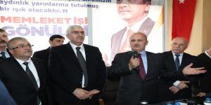 Bakan Turhan, Pasinler'e Çıkarma Yaptı