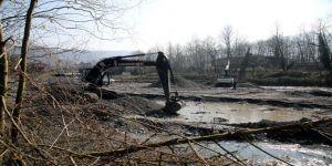 Sapanca Gölü'nü Besleyen Kurtköy Deresi Islah Ediliyor