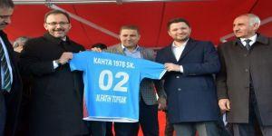 Bakan Kasapoğlu'ndan Kahtaspor'a 100 Bin Tl Destek Sözü
