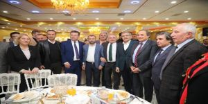 Murat Aydın Belediye Başkan Adaylarıyla Bir Araya Geldi