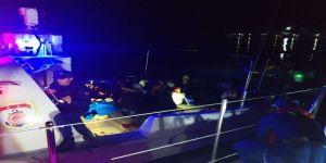 Sürat Teknesiyle Sahil Güvenlik Ekiplerinden Kaçamadılar