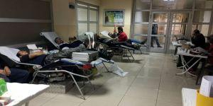 Midyat'ta Kan Bağışına Yoğun İlgi
