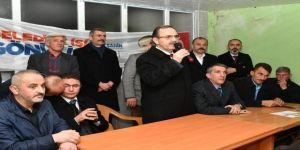 """Başkan Şahin: """"Küçük Sanayi Sitesi Projesi'ni Hayata Geçireceğiz"""""""