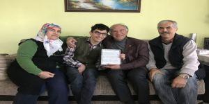Demir'den Sosyal Medya Takipçisi Engelli Gence Ziyaret