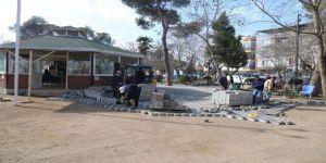 Belediyeden Aile Çay Bahçesine Yakışır Düzenleme