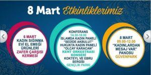 Ankara Büyükşehirden Kadınlar Günü Etkinlikleri