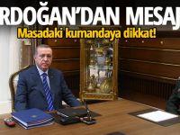 MASADAKİ KUMANDAYA DİKKAT !