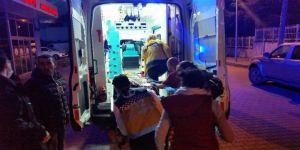 Üzerine Televizyon Düşen 4 Yaşındaki Çocuk Yaralandı
