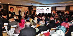 Ak Partili Aday Ali Kaya'nın Proje Tanıtımına Yoğun İlgi