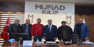 Btp Adayı Özkar, Müsiad Kilis Şubesini Ziyaret Etti