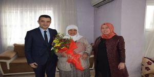 Kaymakam Bilici'den Şehit Ailesine Ziyaret