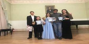 Antalya Devlet Konservatuarı Öğrencileri, Piyona Yarışmasından Dereceyle Döndü