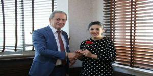 Milli Eğitim Müdürü Ekinci Kadın Personellerin Dünya Kadınlar Günü'nü Kutladı