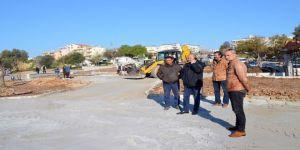 Didim Belediyesi, Pir Sultan Abdal Parkını 14 Mart'ta Açacak