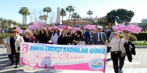 Alanya'da Dünya Kadınlar Günü Kutlandı