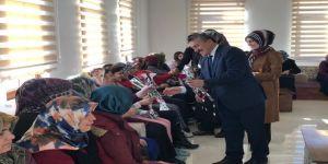 Başkan Tutal'dan 8 Mart Dünya Kadınlar Günü Ziyareti