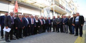Başkan Özakcan, Efeler Ziraat Odası'nı Ziyaret Etti